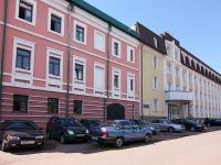 neighbour house: st. Dzerzhinsky, house 10. governing bodies Министерство строительства, архитектуры и жилищно-коммунального хозяйства Республики Татарстан