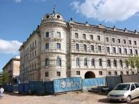 Казань, улица Дзержинского, дом 14. здание на реконструкции