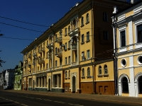Kazan, Dzerzhinsky st, house 27. Apartment house
