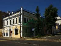 neighbour house: st. Teatralnaya, house 1/27. building under reconstruction