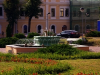 Казань, площадь Свободы. фонтан