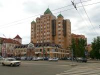 Казань, улица Зинина, дом 1. многоквартирный дом