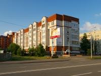 Казань, улица Зинина, дом 20. многоквартирный дом