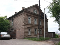 Kazan, st Ulyanov-Lenin, house 16. Apartment house