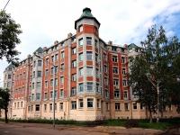 Kazan, st Ulyanov-Lenin, house 47. Apartment house