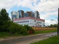 улица Подлужная. хозяйственный корпус