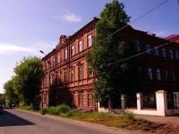 Казань, улица Муштари, дом 6. школа №18, с углубленным изучением английского языка