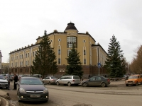 Kazan, Dostoevsky st, house 18. multi-purpose building