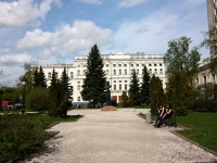 Казань, сквер Лобачевскогоулица Кремлевская, сквер Лобачевского