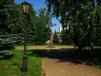 Казань, улица Пушкина. памятник Профессору М.Т.Нужину