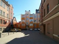 Kazan, Peterburgskaya st, house 40А. Apartment house