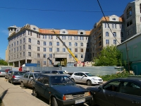 Kazan, Peterburgskaya st, house 19. building under construction