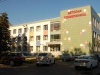 neighbour house: st. Luknitsky, house 4. polyclinic