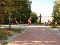 Казань, улица Лукницкого, сквер