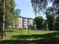 Казань, улица Батыршина, дом 40 к.1. многоквартирный дом