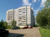 Kazan, Blyukher st, house 4. Apartment house
