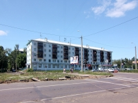 喀山市, Vosstaniya st, 房屋 87. 公寓楼