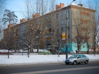 Kazan, Vosstaniya st, house 72. Apartment house