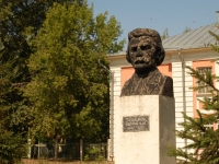 Казань, памятник Г. Ибрагимовуулица Восстания, памятник Г. Ибрагимову