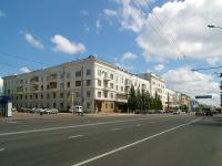 Kazan, st Vyborgskaya, house 19. Apartment house