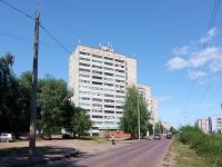Казань, улица Галимджана Баруди, дом 21. многоквартирный дом