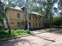 neighbour house: road. Gorkovskoe, house 25. Apartment house