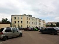 Kazan, university Казанский государственный архитектурно-строительный университет, Zelenaya st, house 1