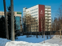 Казань, улица Зелёная, дом 2. общежитие