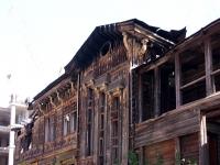 Казань, улица Зои Космодемьянской, дом 2. аварийное здание