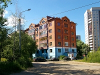 neighbour house: st. Poperechno-Bazarnaya, house 61. Apartment house
