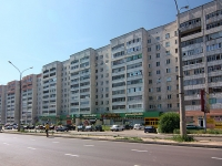 Казань, улица Кулахметова, дом 17 к.2. многоквартирный дом