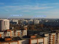 Kazan, Kulakhmetov st, house 21. Apartment house