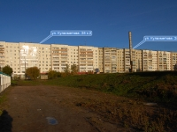 Казань, улица Кулахметова, дом 25 к.2. многоквартирный дом