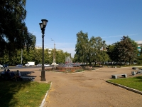 Kazan, st Akademik Gubkin. square