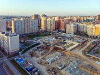 Казань, улица Абсалямова. строящееся здание