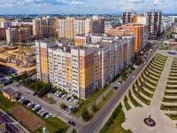 Казань, улица Абсалямова, дом 13. многоквартирный дом