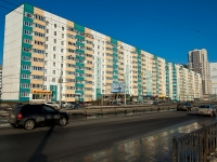 Казань, улица Чистопольская, дом 55. многоквартирный дом