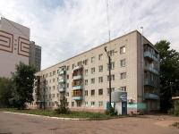 Казань, улица Седова, дом 3. многоквартирный дом