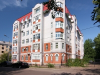 Kazan, Aleksandr Popov st, house 1. Apartment house
