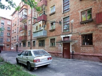 Kazan, Aleksandr Popov st, house 7. Apartment house