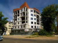 Kazan, building under construction долгострой, Akademik Kirpichnikov st, house 4А