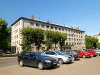 Казань, улица Журналистов, дом 1. общежитие
