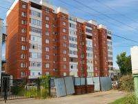 Казань, улица Журналистов, дом 6. многоквартирный дом