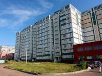 Kazan, Bondarenko st, house 22. Apartment house