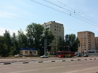 Казань, Ямашева проспект, дом 21. многоквартирный дом