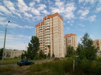 Kazan, Yamashev avenue, house 81. Apartment house