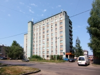 neighbour house: st. Korolenko, house 52А. hostel
