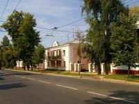 Казань, улица Патриса Лумумбы, дом 19. многоквартирный дом
