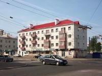Казань, улица Патриса Лумумбы, дом 22. многоквартирный дом