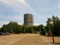 Казань, улица Патриса Лумумбы, дом 38А. строящееся здание